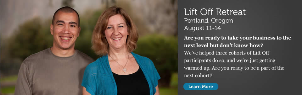 Lift Off Retreat in Portland, Oregon. August 11-14